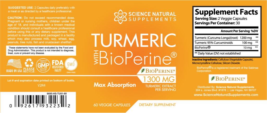 science natural supplements product label review