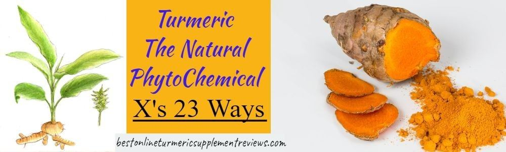 Turmeric is seen to have 23 separate phytochemical benefits before adding CBD oil