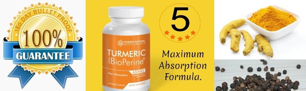 Robert No1 Turmeric Supplemet recommendation