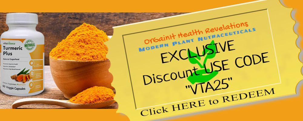 orgainit health revelations excusive vita balance turmeric plus coupon for 2021